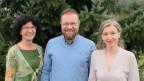 «Persönlich»-Gastgeberin Anita Richner (rechts) mit Markus Meyer und Renate Seitzinger.
