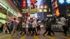 Hongkong als pulsierende Weltstadt (Bild: Keystone)