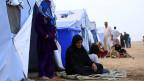 Frauen in einem Flüchtlingslager im Irak.