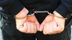 Betrug: Hände in Handschellen