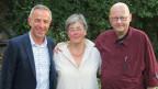 V.l.n.r. Dani Fohrler, Gabriella Karger, Claude Cueni