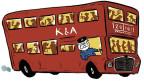 Buchpremiere im London Bus (Bild: Daniel Müller)