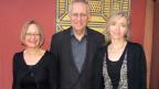 Maria Egli (links), Josef Schuler und Anita Richner stehen nebeneinander.