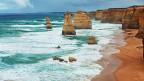 Die zwölf Apostel im Meer in Australien.