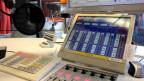 Telefonleitungen im Radiostudio.