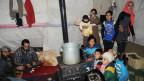 Syrische Flüchtlinge in einem Camp im Libanon.