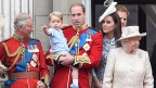 Die Royal Family in London.