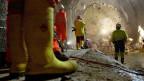Del Buono erzählt von den Arbeitern am Gotthardbasistunnel (Bild: Keystone)