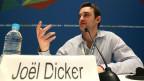 Joël Dicker spricht über den Alltag als Erfolgsautor (Bild: Keystone)