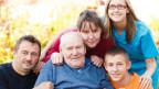 Verschiedene Generationen in einer Familie.