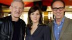 «Persönlich»-Gastgeber Christian Zeugin mit Cornelia Boesch und Christian Haller