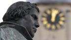 Das Luther-Denkmal in Wittenberg (Bild: Keystone)