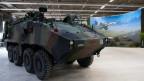 Ein ABC-Aufklärungsfahrzeug der Schweizer Armee