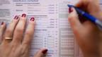 Steuererklärung liegt auf dem Tisch