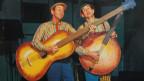 Country-Comedy: Plattencover Lonzo & Oscar