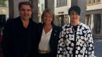 «Persönlich»-Gastgeberin Daniela Lager (mitte) mit Daniel Rohr und Marianne Rapp.