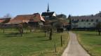 Blick auf das Dorf.