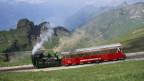 Pro Fahrt braucht die Dampfbahn 300 bis 400 Kilo Kohle.
