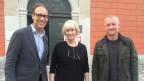 Bei Christian Zeugin im «Persönlich»: Marianne Kleiner-Schläpfer und Simon Enzler