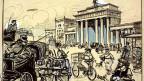 Berlin Alexanderplatz um 1905 von Heinrich Zille