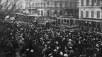 Demonstration in Petrograd 1917