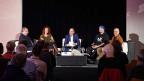 Eröffnungsabend Mundartfestival Arosa-Lenzerheide in Chur mit Bänz Friedli, Bernhard Thurnheer, Leonie Barandun-Alig, Rapper Gimma und Markus Gasser