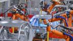 Auos werden von Robotern hergestellt