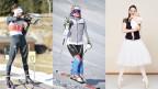 Biathletin Selina Gasparin, Skirennfahrerin Michelle Gisin und Primaballerina Viktorina Kapitonova