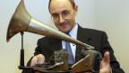 Er ist der Direktor der Schweizerischen Nationalphonothek.