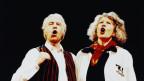 Cés Keiser und Margrit Läubli am Salzburger Stier 1999