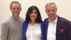 Jan van Berkel, Christina Jaccard und Dani Fohrler