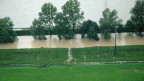 2005 kam es in der Lindtebene letztmals zu einem Hochwasser