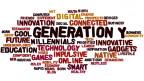 Eine Collage mit Wörtern rund um 'Generation Eigensinn'