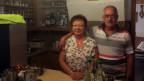 Wirtepaar an der Bar im Restaurant Jura im Fricktal.
