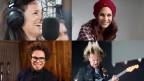 Caroline Chevin, Tanja Dankner, Marc Sway, Fabian Anderhub als Collage