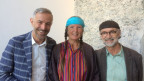 Neeltje van den Ham Bölsterli und Robert Keusen (r) zu Gast bei Dani Fohrler