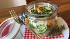 Audio «Fenchel-Gurken-Melonen-Salat mit Parmesan» abspielen.