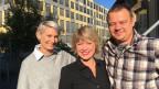 Caroline Derungs und Felix Immler zu Gast bei Daniela Lager in St. Gallen.