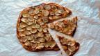 Spicy Kartoffel-Pizza.