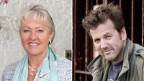 «Persönlich»-Gäste: Barbara Janom Steiner und Christian Jott Jenny.