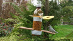 Vogelfutter aus der Flasche