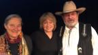Barbara Buser (l) und Rolf Tschudin zu Gast bei Daniela Lager