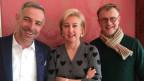 Gruppenbild Dani Fohrler, Roberta Ottolini Kühni und Claudio Righetti