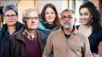v.l.n.r: Christiane von May, Jakob Knöpfel, Sarah Weibel, Johny Padua, Jennifer Perez