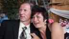 Franz und Silvia Laffer an einem festlichen Anlass.