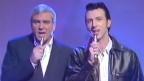 Gene Pitney und Marc Almond singen gemeinsam Pitney's Hit «Something's Gotten Hold Of My Heart» in die Charts 1988