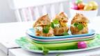 Bildlegende: Ofenküchlein schmecken auch in einer salzigen Variante.