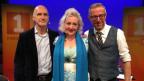 Andrea Fischer Schulthess und Richard Kägi (l) zu Gast bei Dani Fohrler