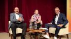 Beat W. Zemp und Susanne Kunz bei Moderator Dani Fohrler