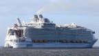 grösstes Kreuzschiff der Welt ist momentan die Symphony of the Seas.
